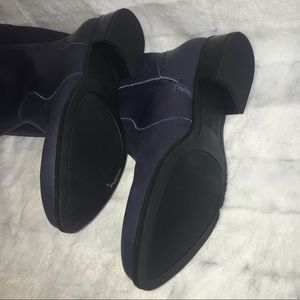 Nine West Shoes - NWOB Nine West Navy Leather Boots